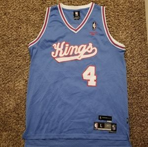 Auther Chris Webber Sacramento Kings NBA Jersey